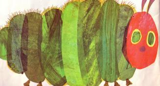 Very Hungry Caterpillar Eric Carle cropped