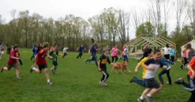 playground motion at farm school cropped