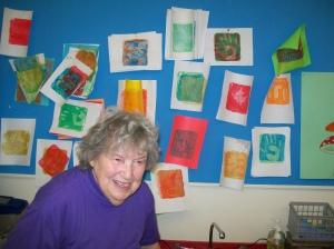 volunteers Mrs Weed