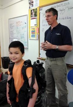 volunteers phil visiting
