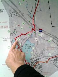mapping bike trail map edit
