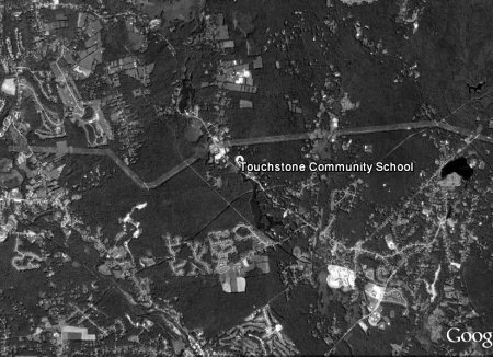mapping black and white aerial