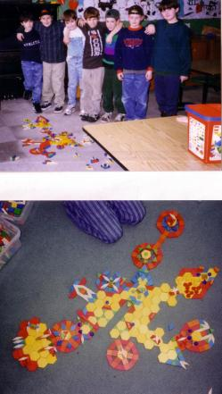 pattern blocks and kids